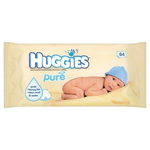 Huggies Toallitas bebé Pure 64 por paquete