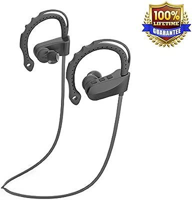 Auriculares Bluetooth, ag-so-so inalámbrico auriculares deportivos ...