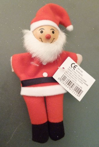 Toyland 36 X 15cm Santa Finger Puppet Schools/christmas Parties/stocking Fillers (c18) by Toyland