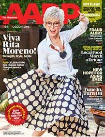 Used, AARP Magazine - August September 2018 - Rita Moreno for sale  Delivered anywhere in USA