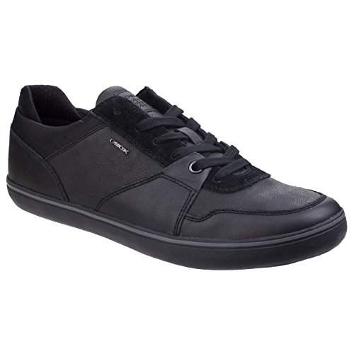 Geox Low Mens Black Sneakers Top 6Uvqr6