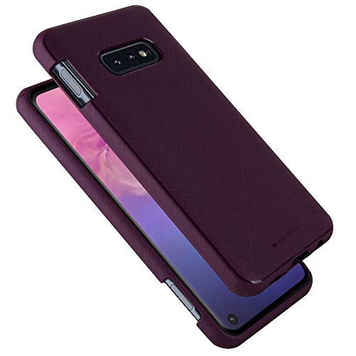 GOOSPERY Galaxy S10e Case [Slim Fit] Style Lux [Flexible] Rubber TPU Jelly Case [Non Slip] Bumper Cover (Purple) S10L-STYL-PPL