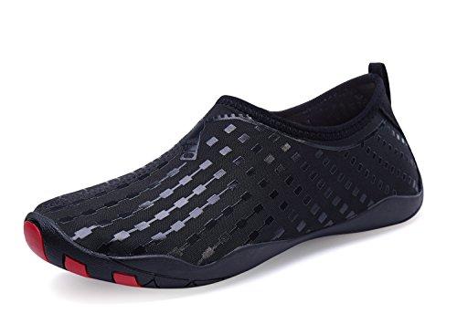 Surf Pool Dry Water Womens Aqua for Socks Shoes Aerobics Sports black Mens Quick Shoes Shoes Yoga Water 37 Beach Barefoot Swim nYPvOxwUq