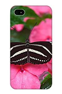 Resignmjwj Case Cover Protector Specially Made For Iphone 4/4s Animal Butterfly