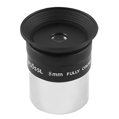 1.25inch Threaded for Filters Fully Coated 4mm Kellner Eyepiece for Telescope Lens with Long Eye Relief