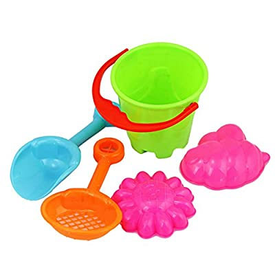khkadiwb Toys Repair Tool & Outdoor ToysOutdoor Sandbeach Toys Bucket Shovel Toddler Kids Children Beach Sand Toy Set: Toys & Games