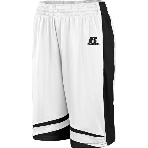 Russell Athletic Women's Basketball Gym Panel Stock Shorts W