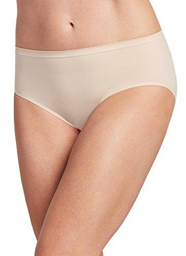 (Jockey Women's Underwear Air Seamfree Hi Cut, Sheer Nude, 6 )