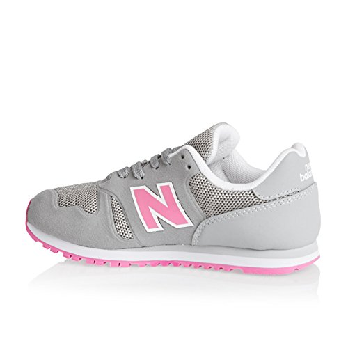 New Balance Trainers - New Balance Kids 373 Lace Shoes - Grey/pink