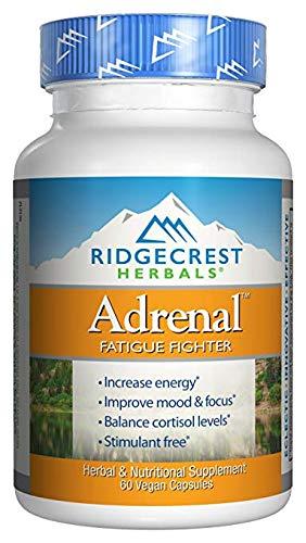 RidgeCrest Herbals Adrenal Fatigue Fighter - 60 Vegetarian Capsules (2)