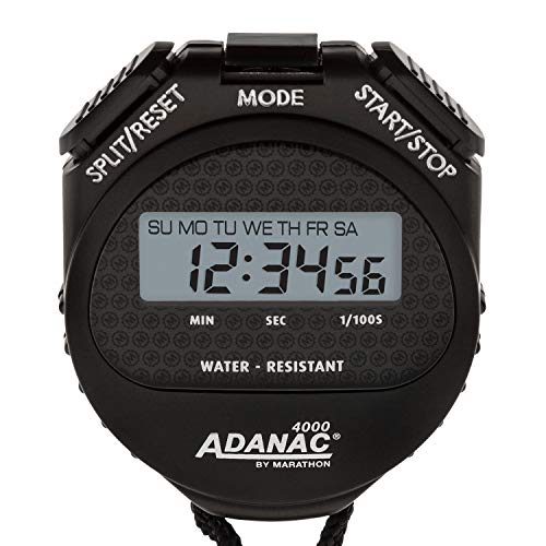 MARATHON Adanac 4000 Digital Stopwatch Timer with Extra ...