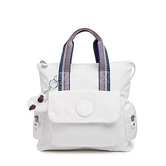Kipling Revel 2-in-1 Convertible Bag, Wear 2 Ways, Zip Closure, alabaster