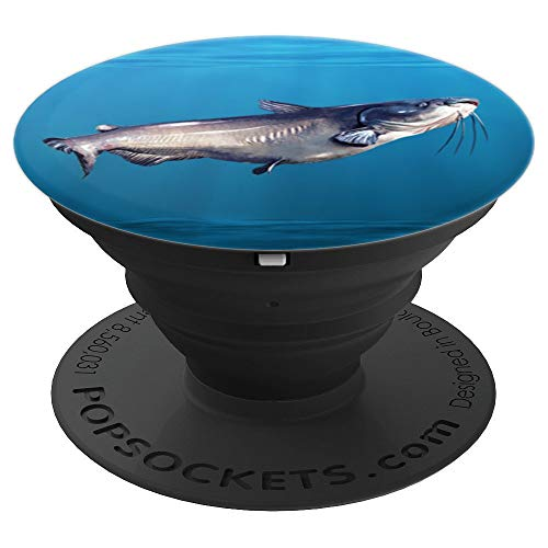 Monster Catfish - PopSockets Grip and Stand for Phones and Tablets