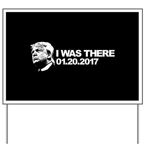 CafePress - Trump Inauguration - Yard Sign, Vinyl Lawn Sign, Political Election Sign