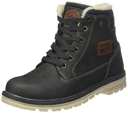 Lico Unisex Adults' Magnus Classic Boots Grey (Grau/Marine Grau/Marine)