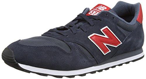 New Balance ML373SBB - Calzado para hombre, color azul / gris / negro / blanco