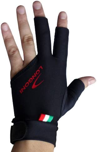 Longoni Guante Billar Black Fire m zurdo: Amazon.es: Deportes y ...