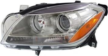 NEW OEM 2012-2015 MERCEDES ML350 ML550 ML250 HALOGEN HEAD LAMP HEADLIGHT VISUAL