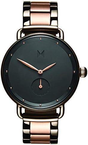 MVMT Bloom Watches   36MM Women's Analog Minimalist Watch   Gunmetal Rose