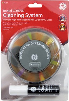 CD/DVD CLEANING SYSTEM by GE MfrPartNo 72597 by Jasco