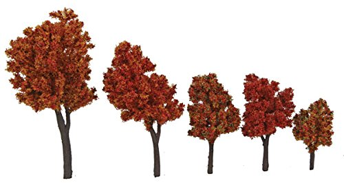 Review Walthers SceneMaster Autumn Trees