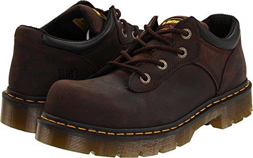 Dr. Martens Work Unisex Naseby ST 4 Tie Shoe Gaucho Volcano Oxford UK 5 (Women's 7) Medium (Oxford Volcano)