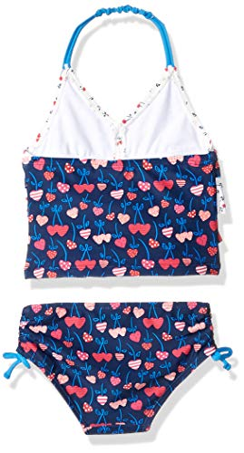 KIKO /& MAX Baby Girls Ruffle Top Two Piece Bikini Swimsuit Bathing Suit