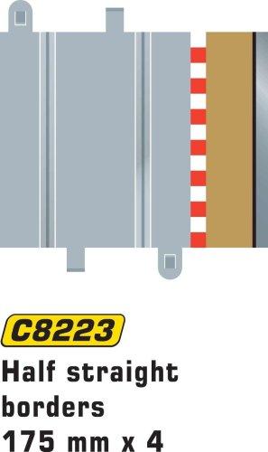 Hornby France - Scalextric - C8223 - Circuit - Voiture - Bordures et barrières demi droit