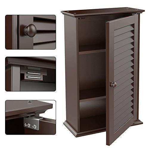 Wall Mount Bathroom Cabinet Storage Cupboard Medicine Organizer Kitchen -