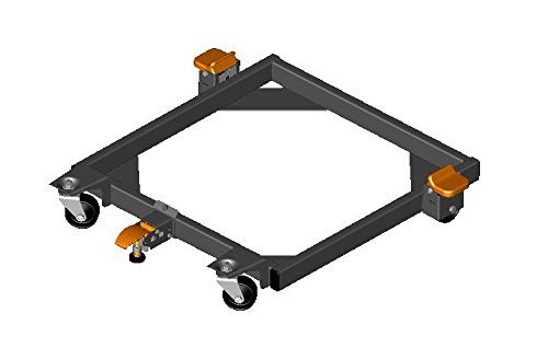 HTC HDJ-2374 Style Q Welded Mobile Base, 14.25 X 27.25-In...