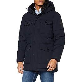 Tommy Hilfiger Men's Removable Fur Hooded Parka Jacket