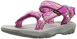 Teva Girls' T Hurricane Xlt 2 Sport Sandal, Delmar Pink, 9 M Us Toddler
