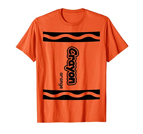 Halloween Ideas For Office Group (Orange Crayon Easy Halloween Costume Cute)