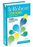 le robert dictionnaire de citations francaises tome 1 7000 citations de la chanson de roland ? beaumarchais collection usuels poche french edition