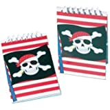 Pirate note book (pack of 12) - Great Pirate Party Bag Fillers!