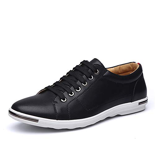 Another Summer Men's Classic Casual Skate Shoes Fashion Leather Sneakers by Another Summer