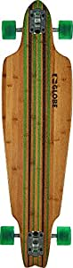 Globe Prowler Complete Skateboard, Bamboo/Green, 10 x 38-Inch