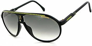 59f2d73b88ab50 Carrera - Champion - Lunettes Homme - Noir jaune Green - Lunettes de Soleil