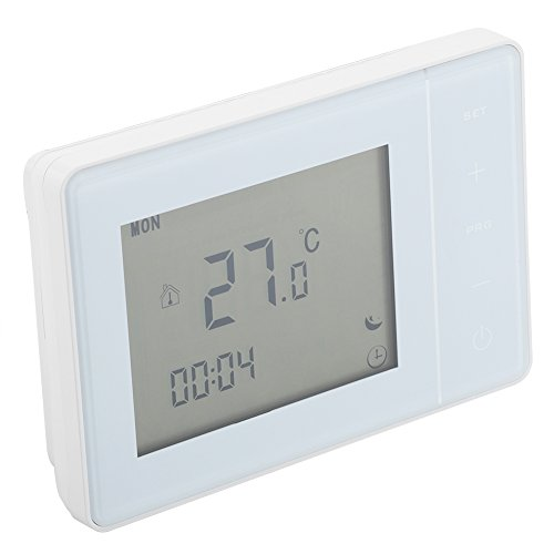HY01RF 220V 16A Wireless RF Digital Heating Thermostat Temperature Thermostat Controller (EU Plug)