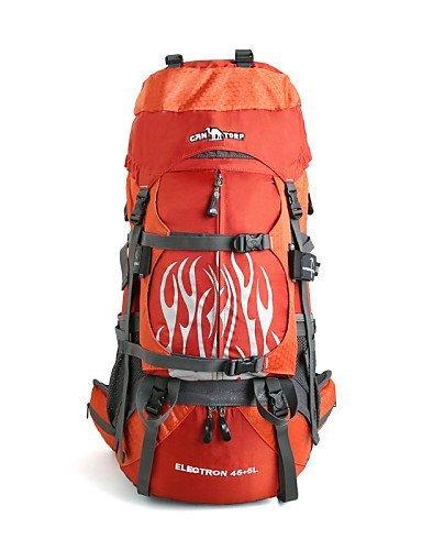 GXS Professional Outdoor Sport Reiten Camping wasserabweisend Multifunktions Schultern Bergsteigen Taschen 45L + 5L - Armeegrün Kv8twPY7Dz