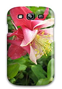Anti-scratch Case Cover Protective Columbine Flower Case For Galaxy S3