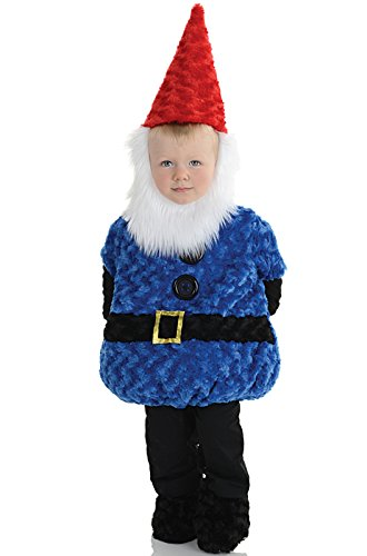 Underwraps Baby's Gnome Belly-Babies, Blue/Black/Red/White, Large
