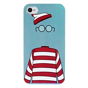 SUMCOM Magical Cap and Gralles and Clothes Pattern ABS Back Case for iPhone 4/4S