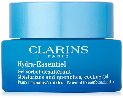 Gel Face Clarins - Clarins Hydra-Essentiel Moisturizes and Quenches Cooling Gel, 1.7 Ounce