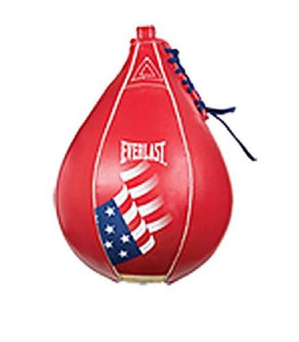 Everlast Leather Speed Striking Bag 4226 USA Red Large