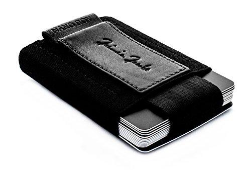 JAIMIE JACOBS Minimal Wallet Nano Boy - Small Credit Card Holder Minimalist...