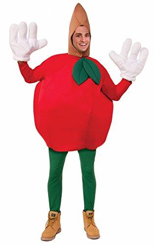 Forum Novelties Apple Costume, Red, Standard