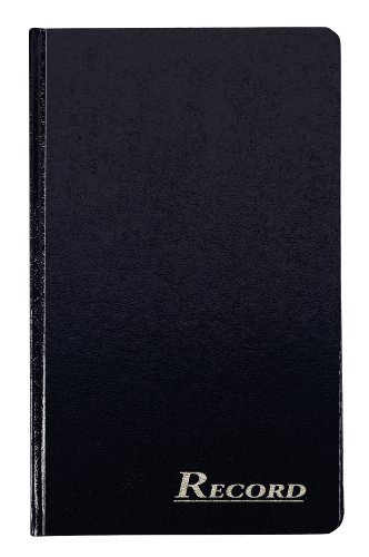 (Adams Record Ledger, Hard Bound Textured Cover, 7.5 x 12.25 Inches, 150 Acid Free Pages, Navy (ARB712R1M))