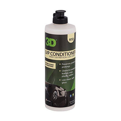 3D Leather, Vinyl & Plastic Conditioner - 16 oz. | Cleans, Conditions & Protects | Extends the Life of Leather | Environmentally Friendly | Made in USA | All Natural | No Harmful Chemicals