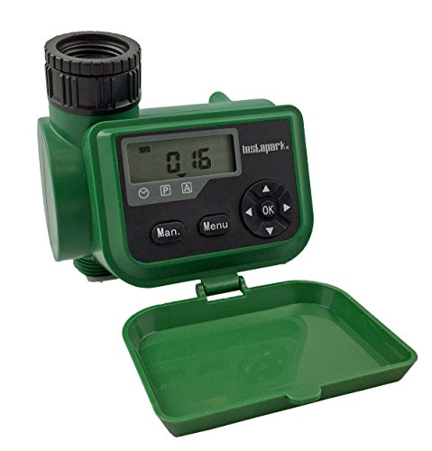 Instapark PWT-06 Outdoor Waterproof Digital Programmable Single Outlet 7-day Automatic On Off Faucet Water Timer with Manual Control Review